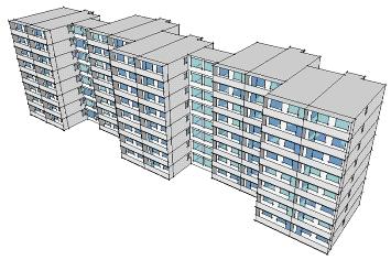 Výstavba dvou podlaží panelového domu